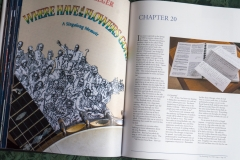 A double page spread from Joe Stead's Ramblings of an Old Codger book