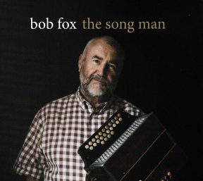 Bob Fox, image of his Songs of the Warhorse Songman CD